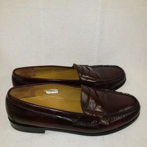 Cole Haan penny loafers  Burgundy mens size 9